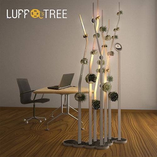 Luffa's tree separatore ambienti giardino verticale separè luci preview