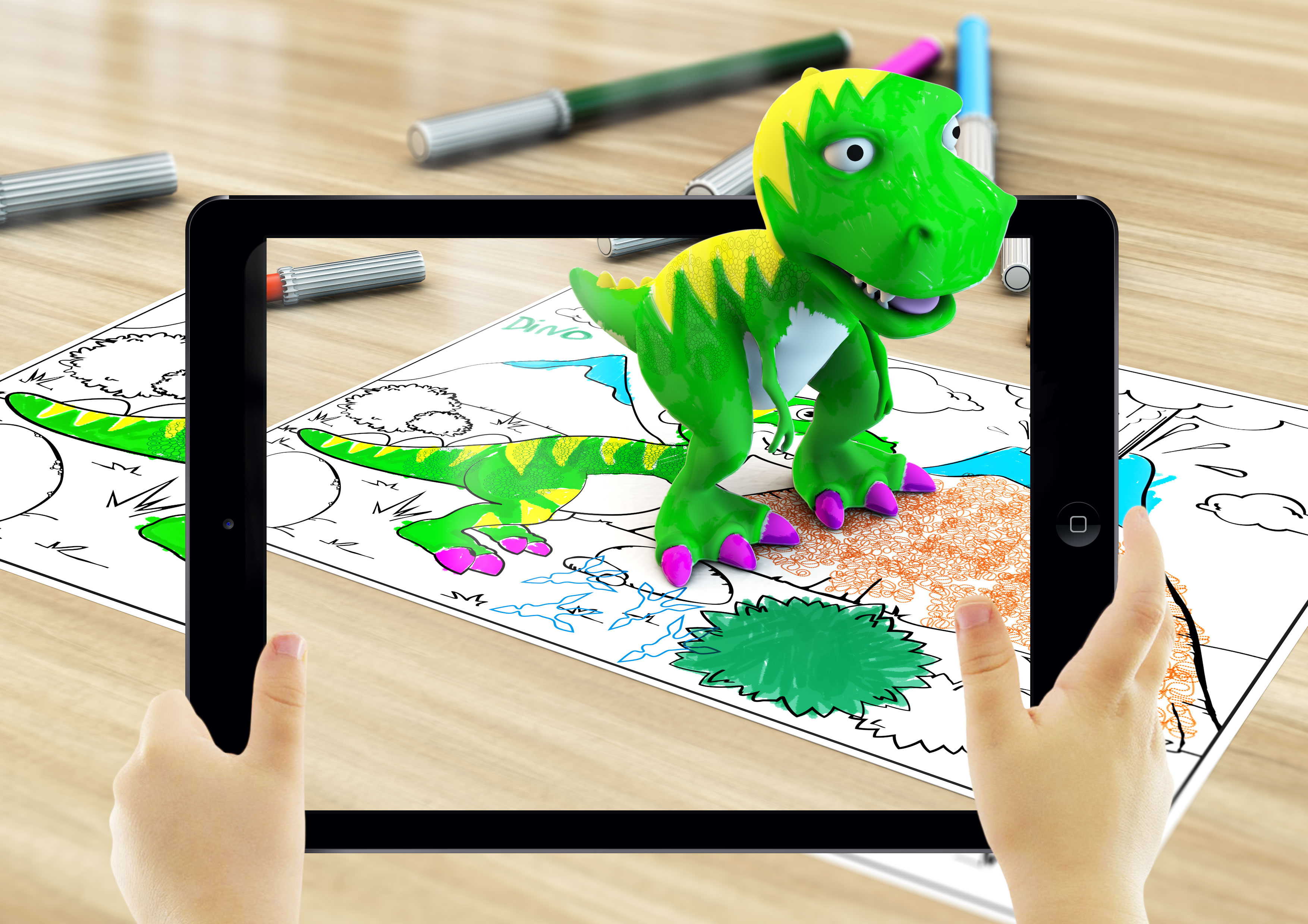 Educazione Digitale Con La Realtà Aumentata