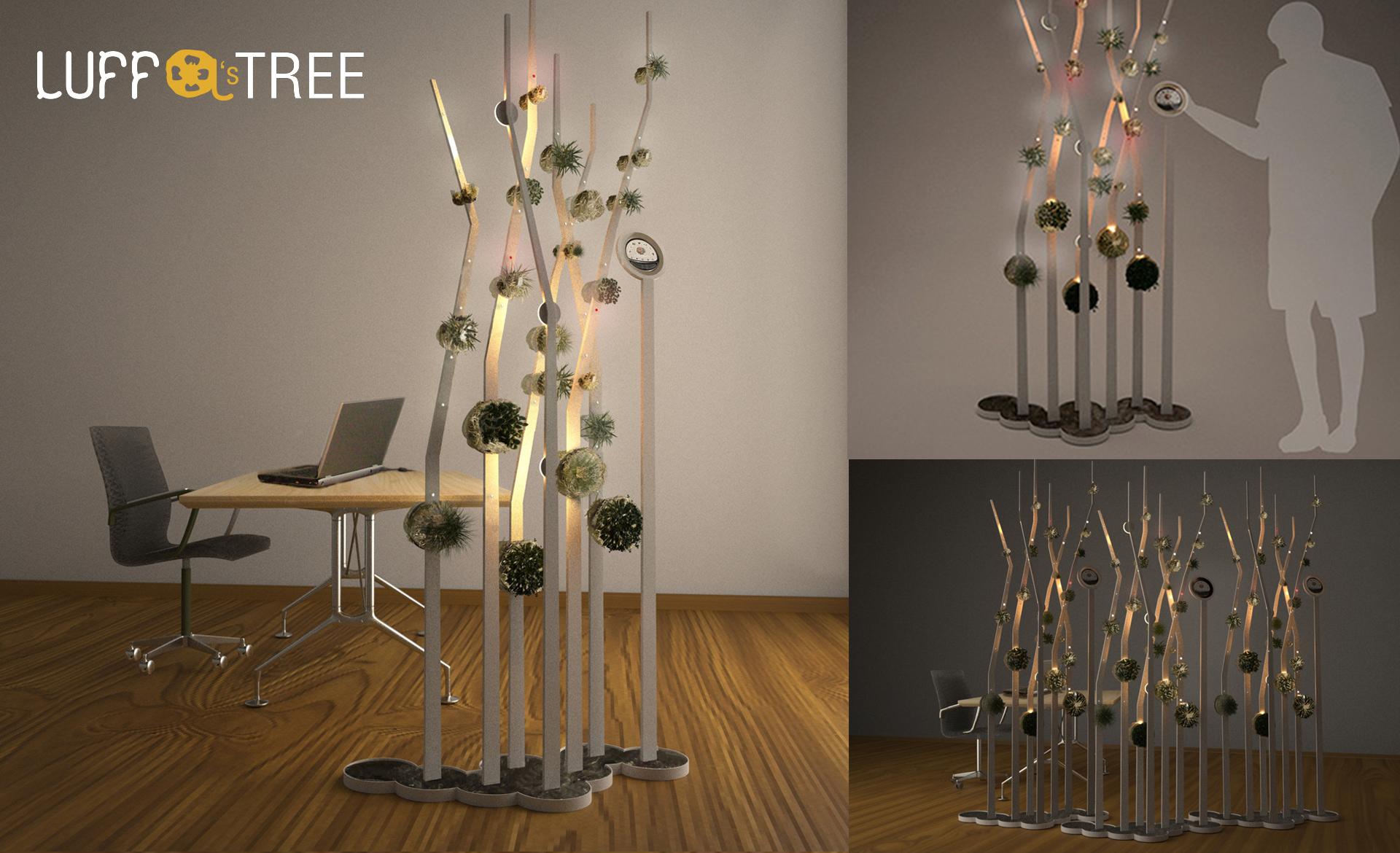 Luffa-tree-separatore-ambienti-giardino-verticale-separè-luci-uso