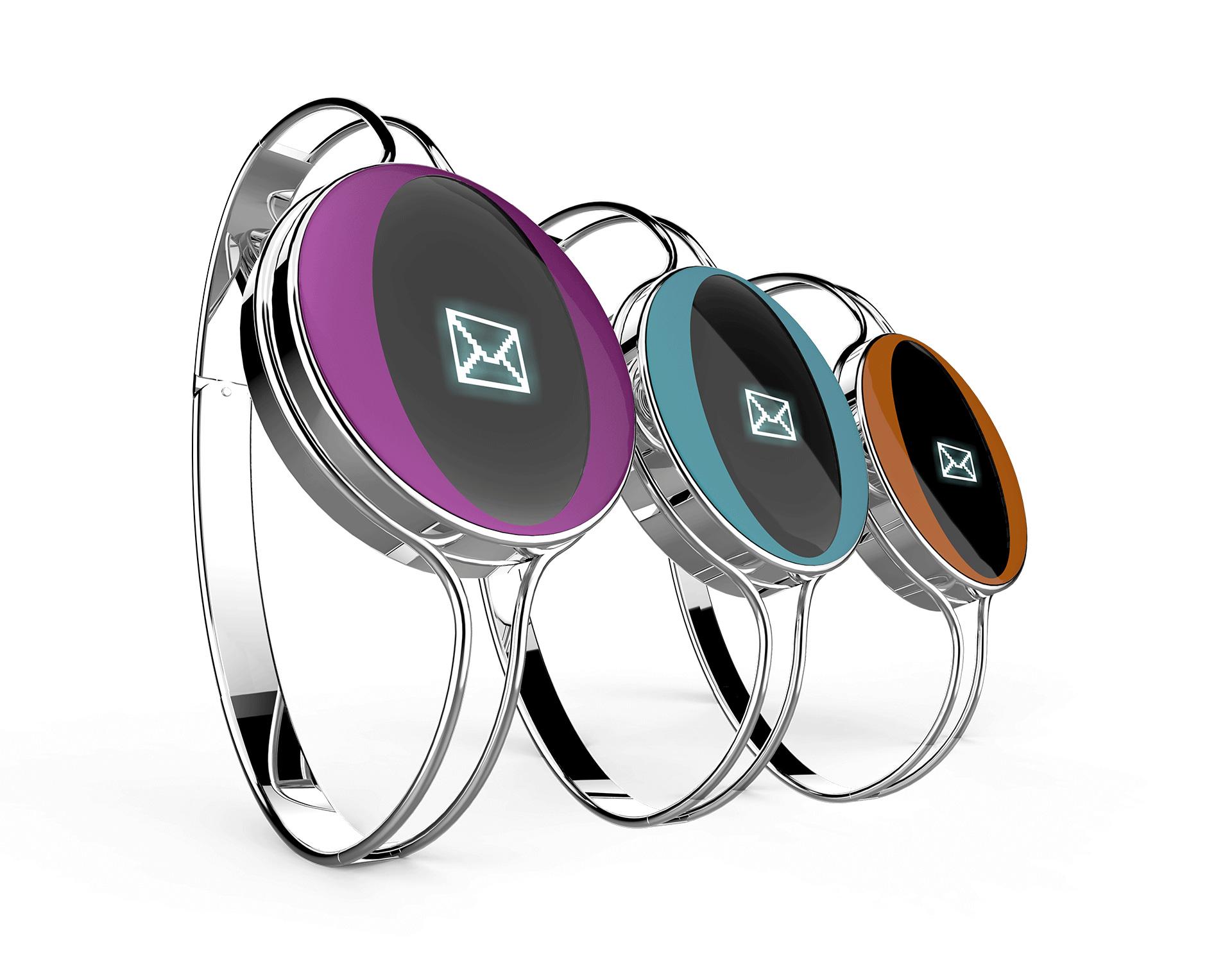 jewels-bracelet-metal-digital--display-