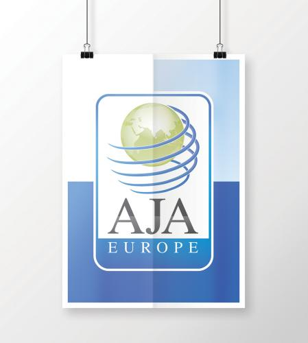 Gruppo AJA-poster-immagine coordinata-aja-Europe