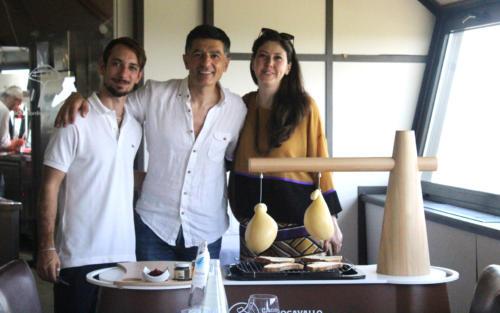 Saverio Mancino, Giulio Caselli, Daniela Di Lascio-designer