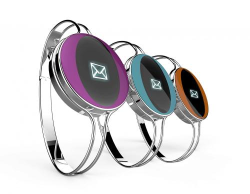 jewels-bracelet-metal-digital--display-
