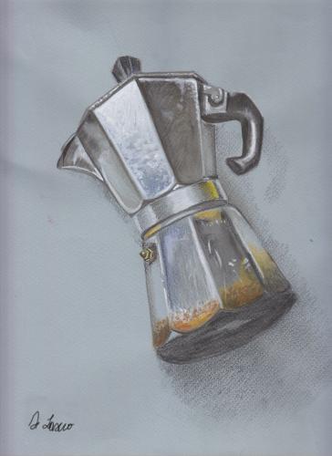 sketch-caffettiera
